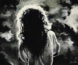 Acrylic on canvas, 60cm x 50 cm